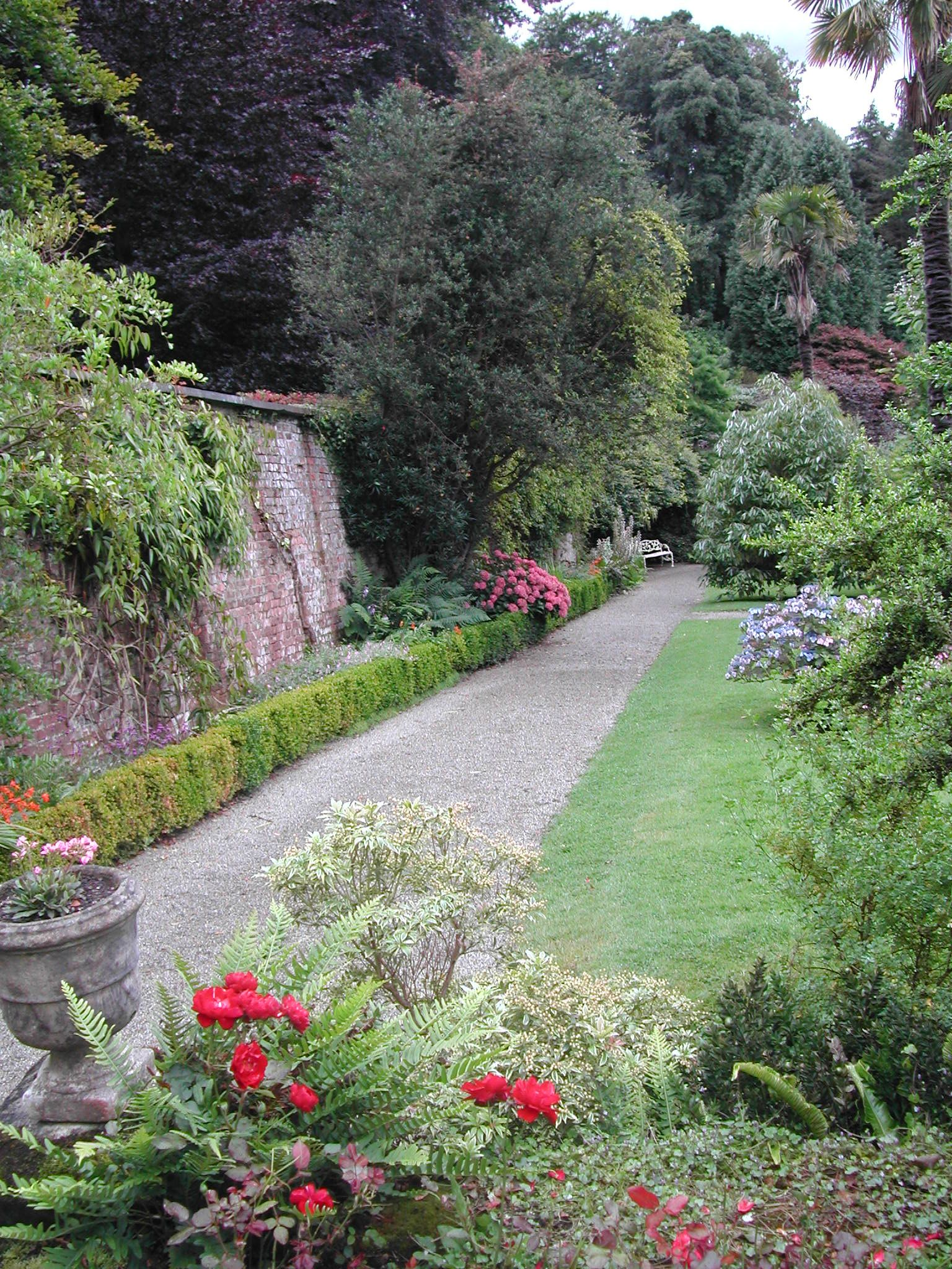 Inside The Walled Garden At Penrhyn Castle Gwynedd Wales Riotous That S What I Want Penrhyn Norman Castle Beautiful Places