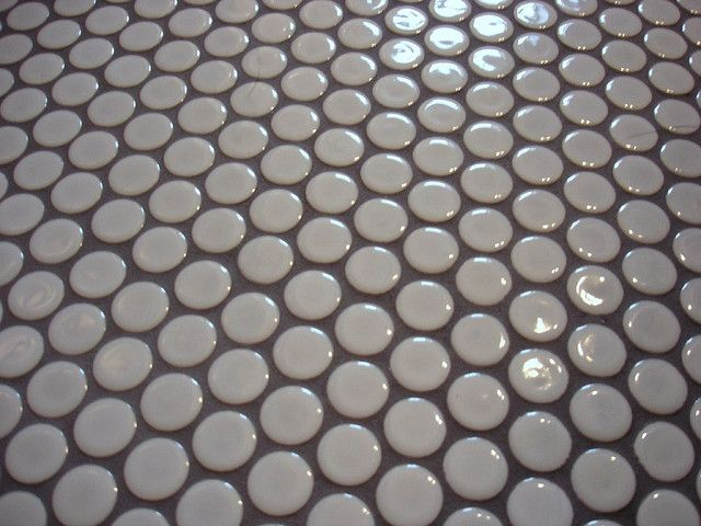 Penny Round Tiles Grey Bathroom Tiles Penny Round Tiles