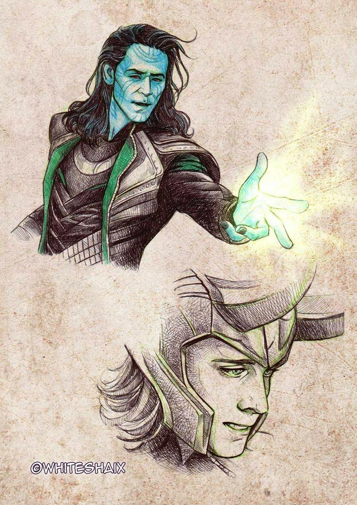 foto de Pin de Anajl92 en Loki Arte de marvel Dibujos marvel y