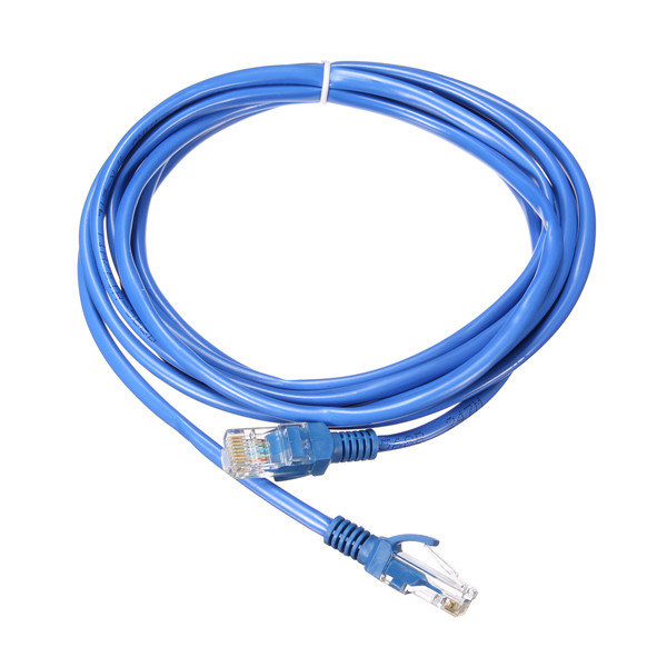 Cat5e RJ45 Ethernet Cord Internet Network LAN Cable Patch Connector Cord