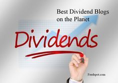 Best Dividend Blog List. Find information and advice on dividend investing, growth investing, dividend income, stocks, portfolio and much more by following these top Dividend Sites #stockportfolio