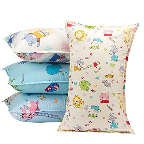 Biubee 4 Packs 14 X 21 Toddler Pillowcases Fits