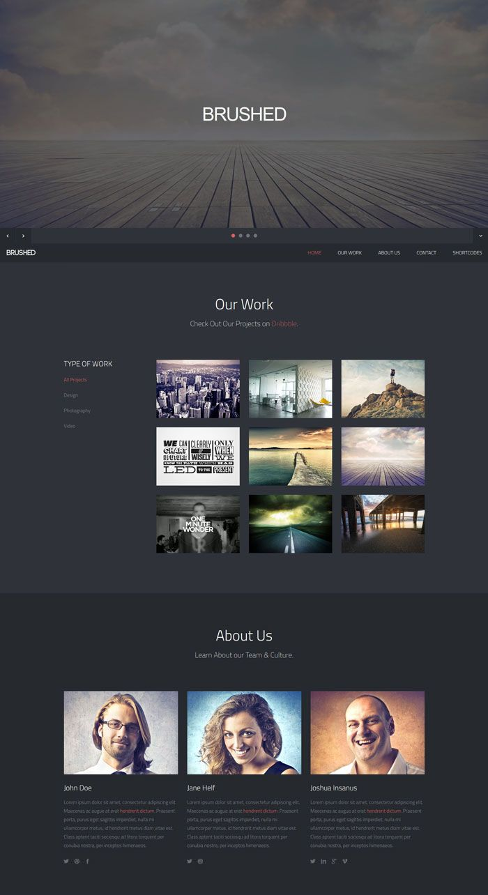 45 Free Bootstrap HTML5 Responsive Templates | Bootstrap Templates ...