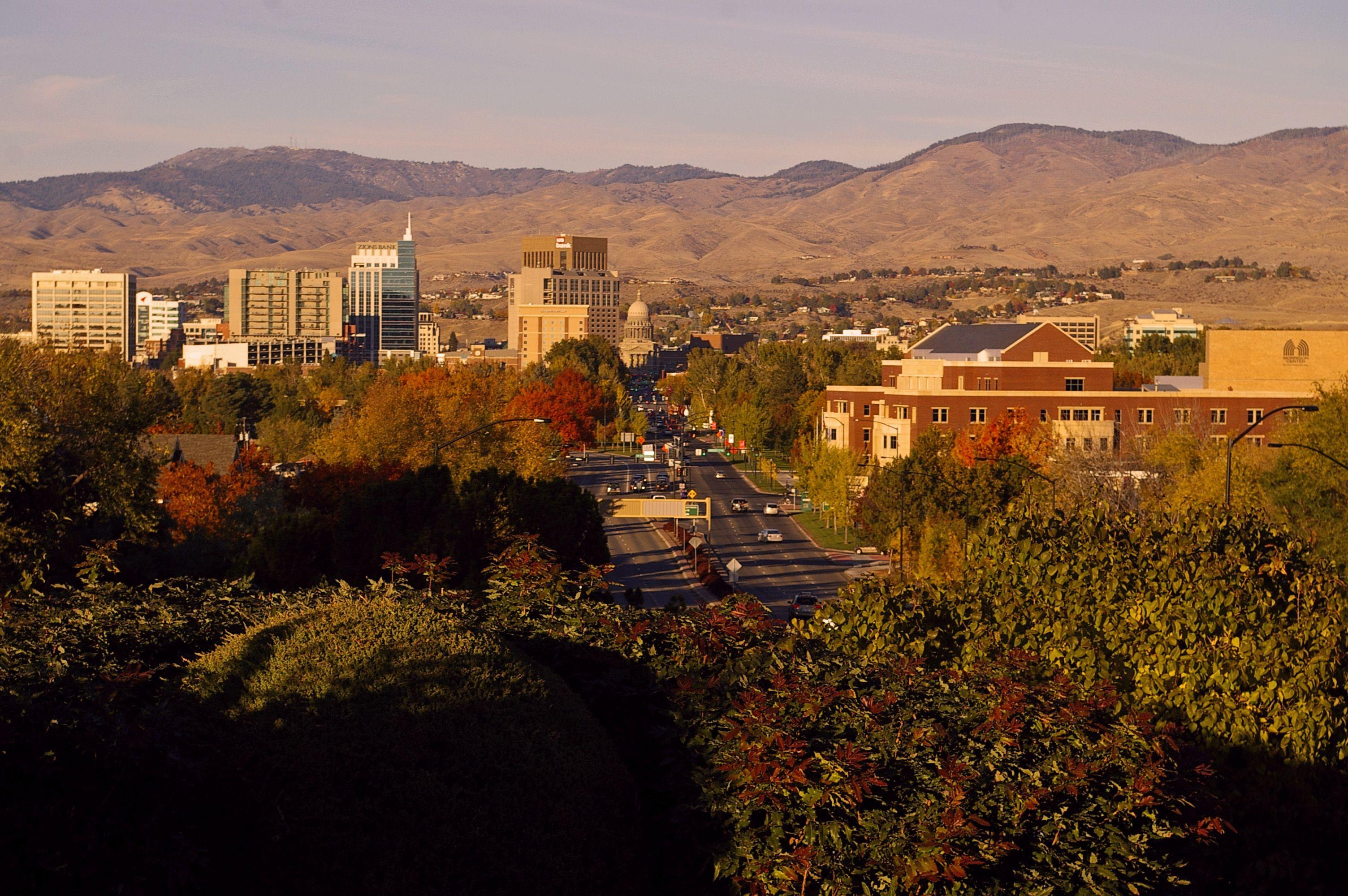 Boise Idaho in the fall!!