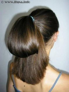 I love this updo.  I dated a girl who often put her hair up like this, and it was so much fun tugging the bottom section until the whole thing popped open and came spilling down