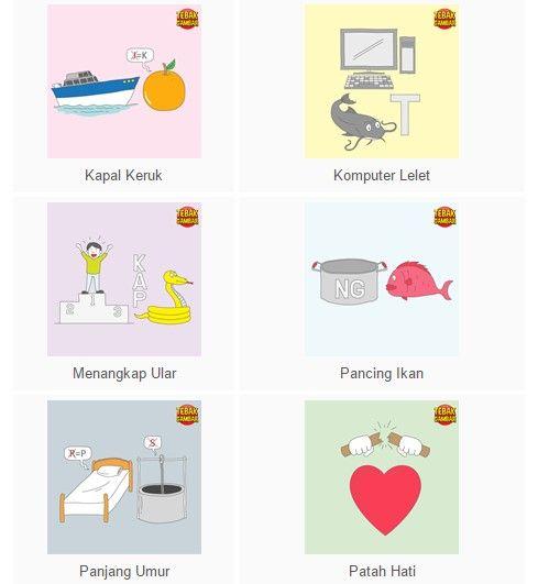 Tebak Gambar Level 3 Gambar Patah Hati Kapal