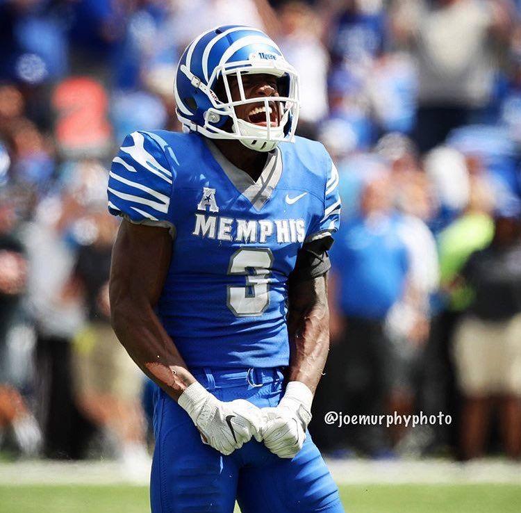Anthony miller 91617 memphis tigers football memphis