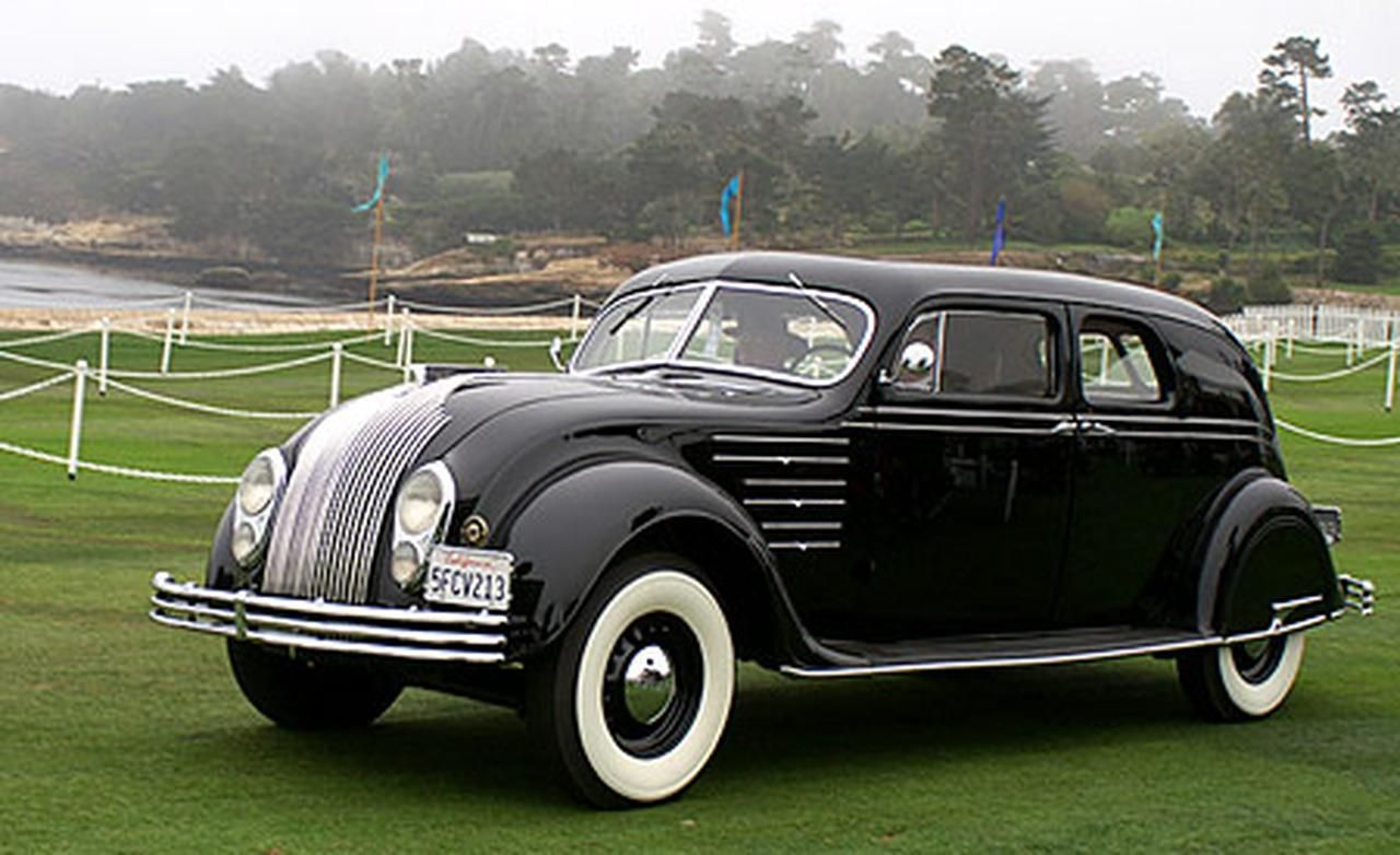 1934 Chrysler Airflow Limousine Very Rare With Images