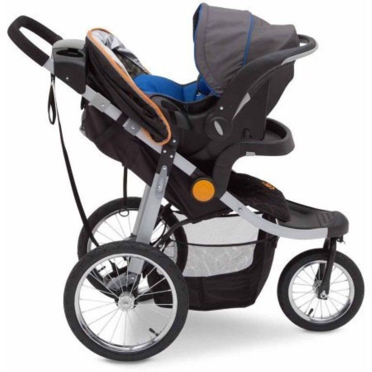 Jeep Jogging Stroller All Terrain Travel System Baby Kids Push
