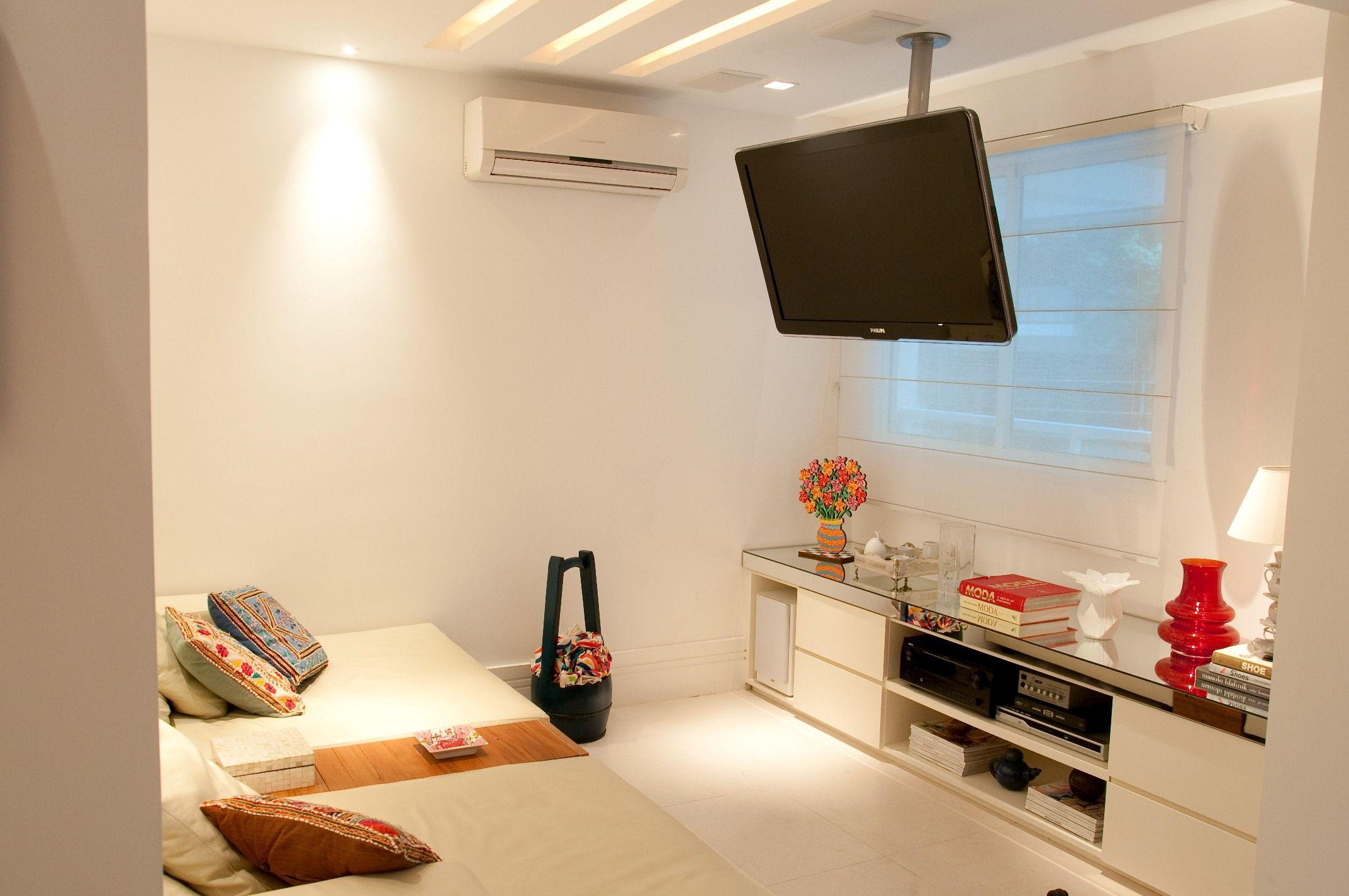 Ideas Para Colocar Una Tv De Plasma En Dormitorios Peque Os  # Muebles Dettaglio Condesa
