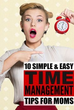 Get more done in less time (and with fewer tears) with this collection of time management tips for moms! Whether you're a stay-at-home, work-at-home, or work-outside-of-the-home mom, these simple and practical ideas will help make your morning routine easier so you can restore some form of order back into your life. Perfect for families of all ages and stages, these tips really work!