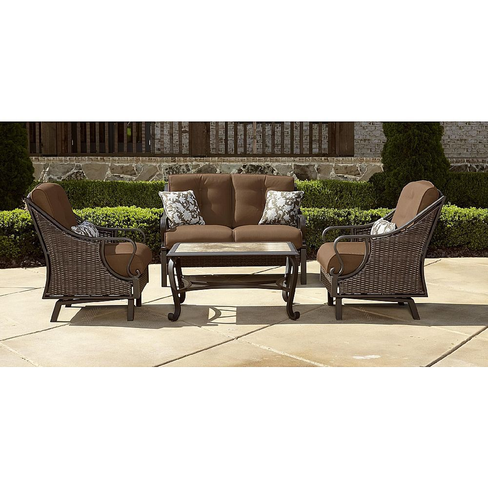 389.97 Lazy Boy Motion Patio Set Rock into Comfort with