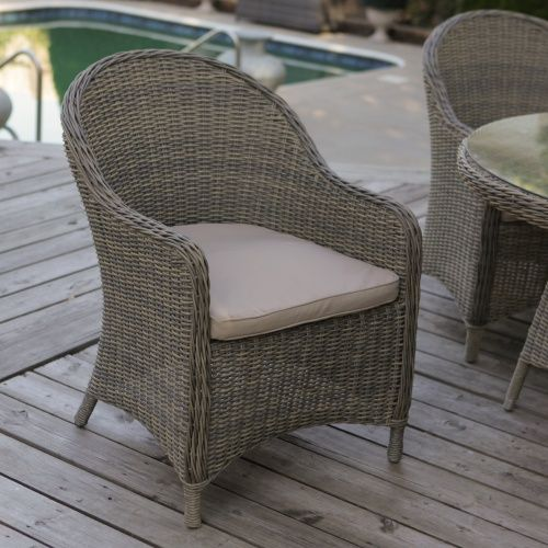 Mingle All Weather Wicker Patio Dining Chair Set Of 2 Outdoor Dining Chairs At Hayneedle Outdoor Wicker Chairs Patio Dining Chairs Wicker Dining Chairs All weather wicker dining chairs