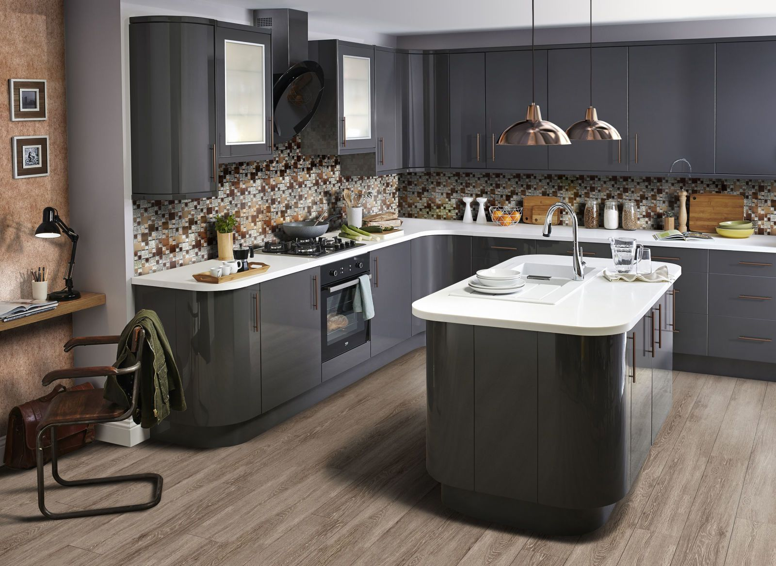 The Kitchen Designs That Pinterest Users Are Obsessed About Kitchen Trends Grey Kitchen Designs Modern Kitchen Trends