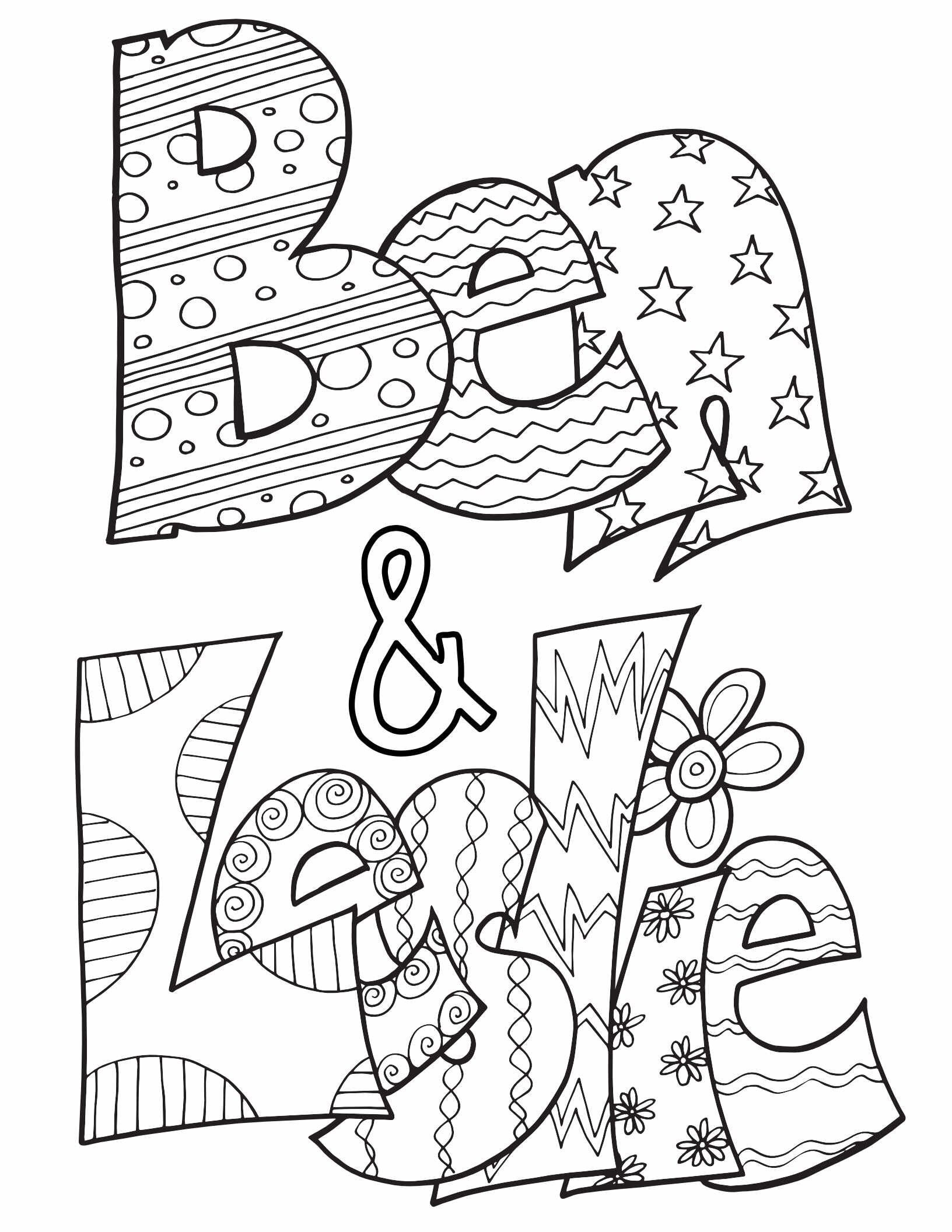 10 Favorite Couples As Coloring Pages - Free Valentine's ...
