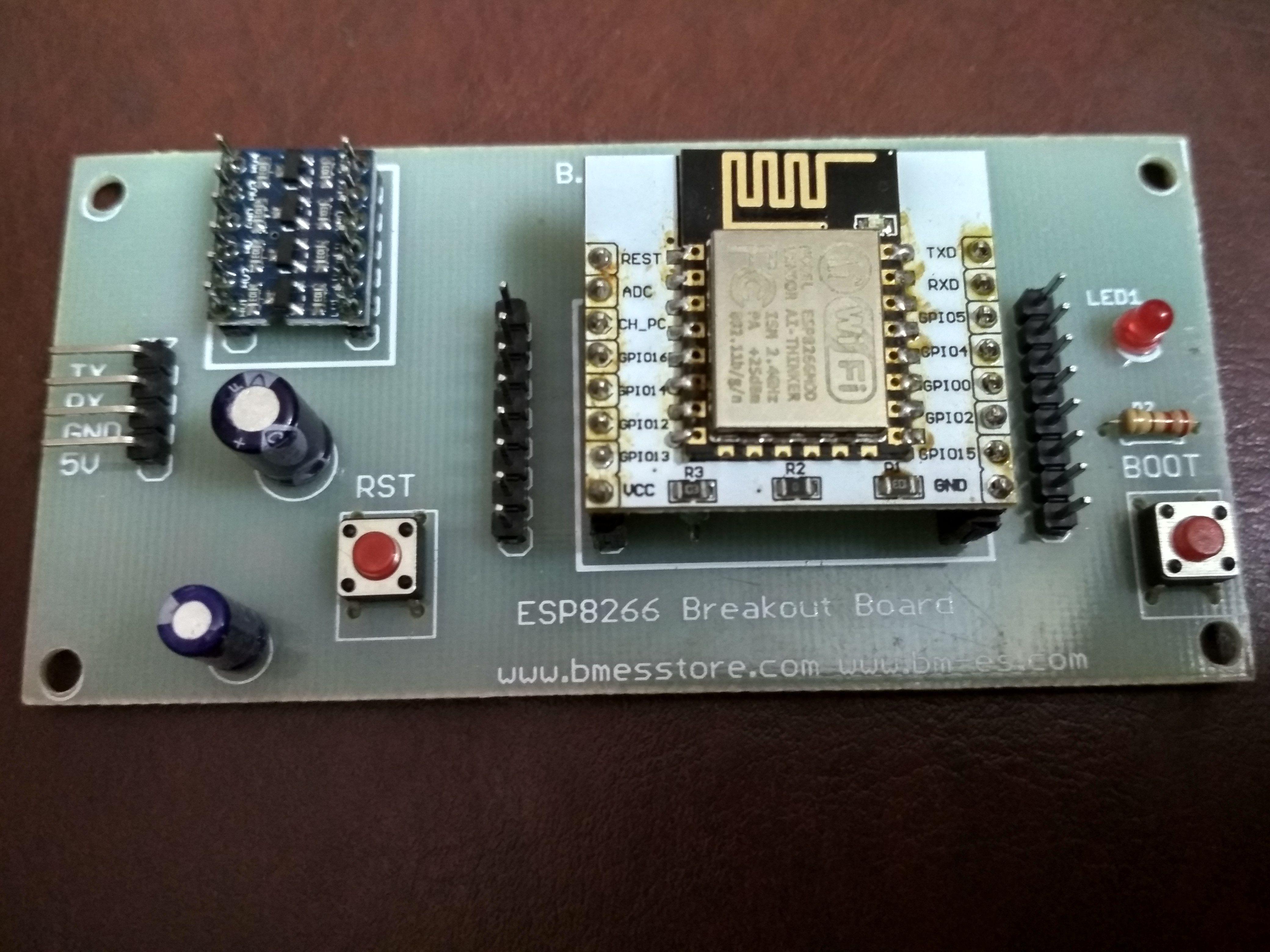 IoT with ESP8266 – Part 1   ESP8266   Voltage regulator, Usb