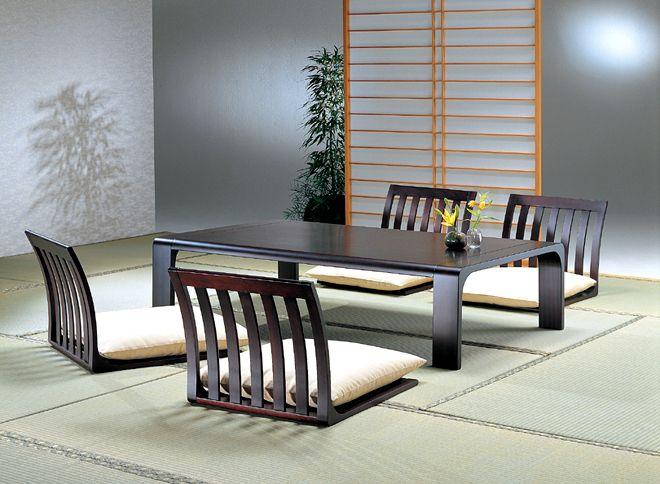 Japan Telphone Shopping Tendo Mokko Tatami Room Table Legless