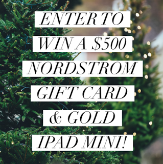 Confessions of a Frugal Mind: Giveaway ~ Enter to Win a $500 Nordstrom Gift Card...