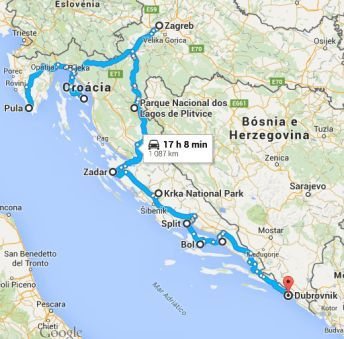Itinerary For An Amazing Road Trip Through Croatia Dubrovnik