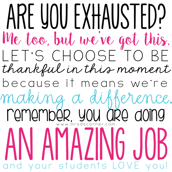 Amazing Job: Are You Exhausted? Me Too, But We've Got This. Let's