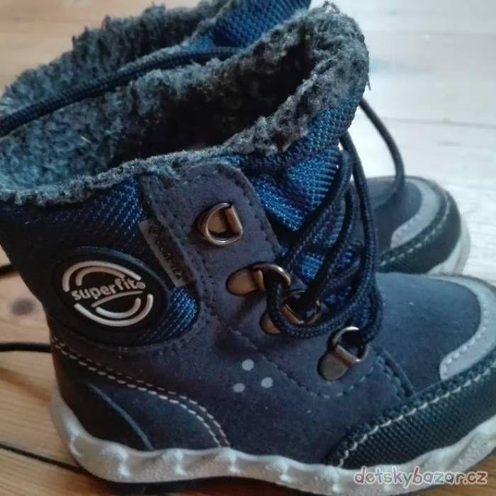 Dětské zimní boty Superfit s GORE-TEX za 249 Kč | Detskybazar.cz