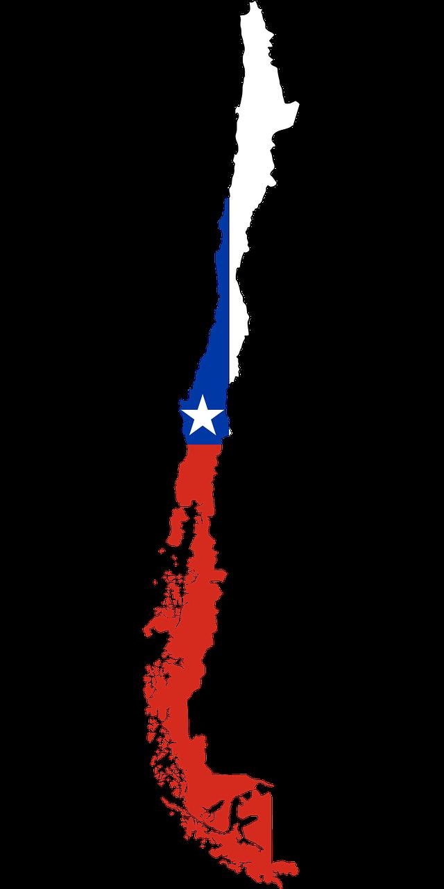 Chile o país mais longo do mundo