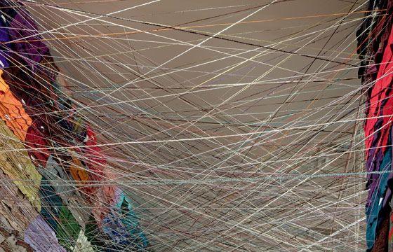 unraveling, 2006-2009  jean shin