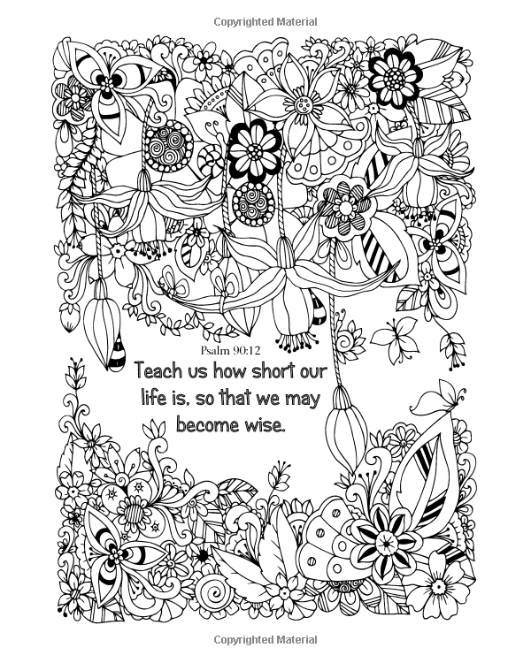 Amazon.com: The Word of God: Religious Coloring Book for Adults (9781533343147): M E Homer: Books