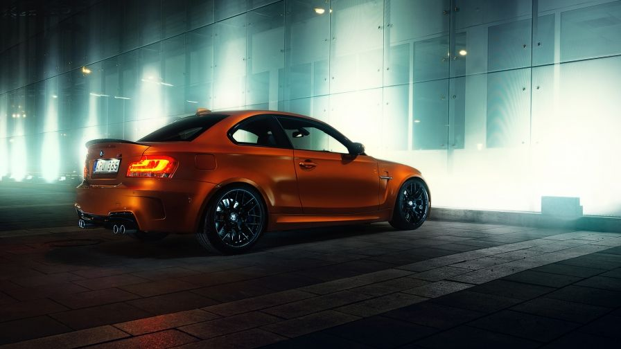 Orange Bmw M Car Wallpaper Download Free Hd Size