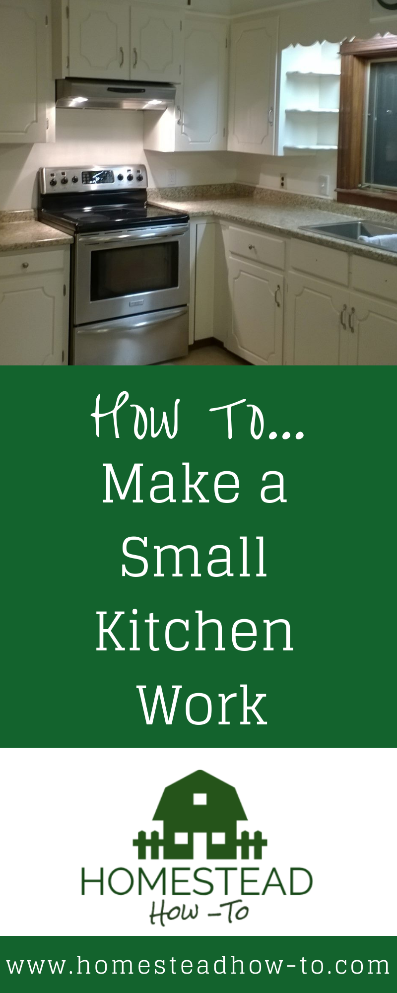 Tips For How To Make The Most Of A Smaller Kitchen Especially When