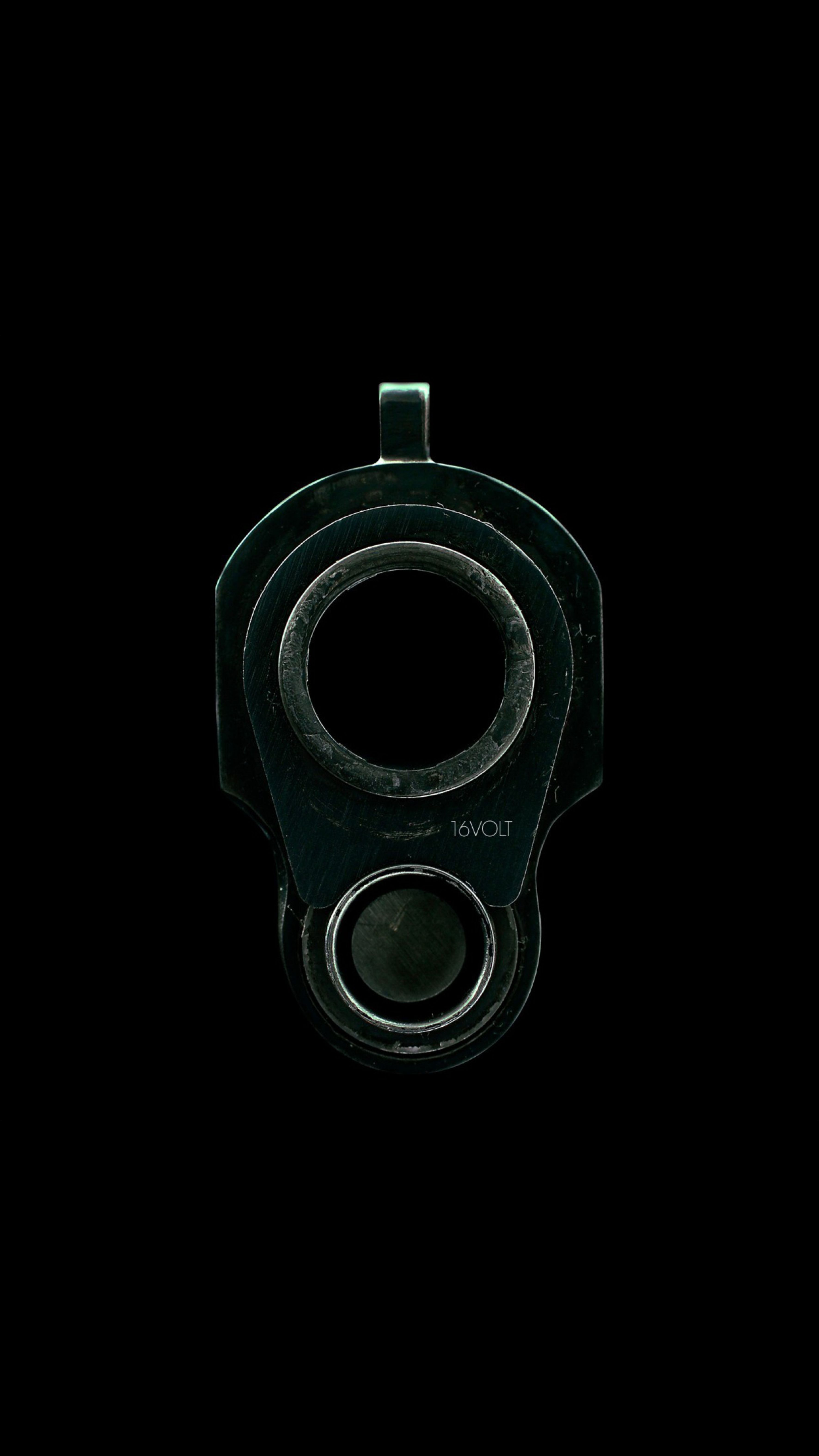 Black gun, iphone 7 plus wallpaper Mine Pinterest