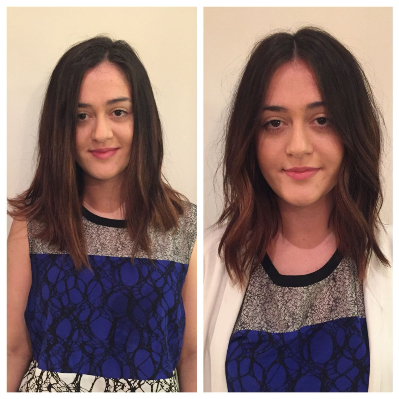lob haircut before and after before and after haircut bob lob long bob razor bob