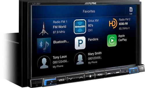 Alpine Android Auto/Apple CarPlay with Sirius XM Tuner