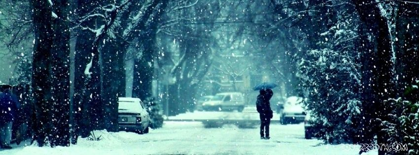 Winter Frost Snow Road Trees Couple Girl Guy Kiss Mood ... Love Couple Wallpapers For Facebook Timeline
