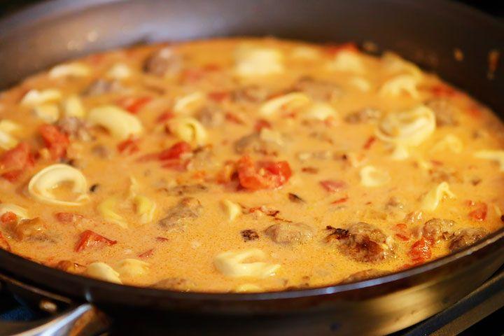 Mild italian sausage pasta recipe