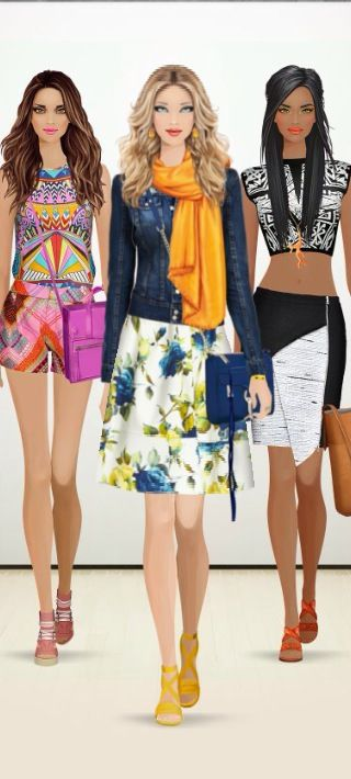 Covet Fashion Game Challenge Style Match Multi Floral Covet Fashion Pinterest Covet