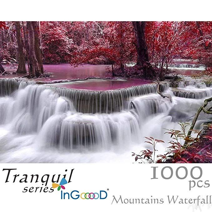 TRANQUIL SERIES-Collection of pictures which can heal and is peaceful. InGooooD jigsaw puzzle No. IG-0139 IMMERSED AND RELEASED- Enjoy your time of wholeheartedly concentrate on puzzle solving. Have fun and relax. EASY TO ENJOY- This is Entry Level with letters tips on the back of every piece for easy solving. POPULAR SIZES- 1000 piece puzzles measured 19.7*29.5 inches with larger pieces for easy handling.