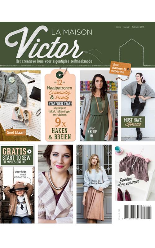 La maison victor magazine editie jan feb 2015 la for Modele maison victor