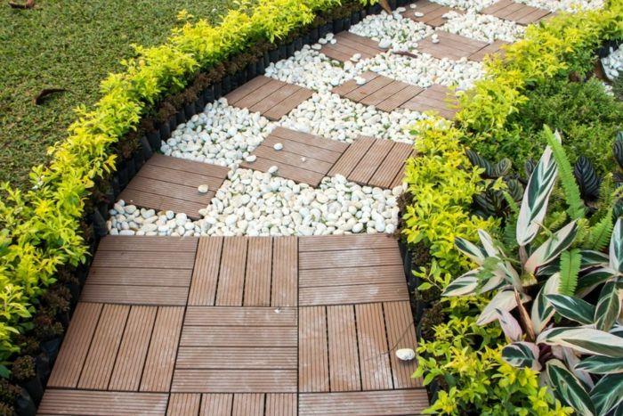 gartengestaltung mit stein garten gestalten vorgarten gestalten - vorgarten gestalten beispiele