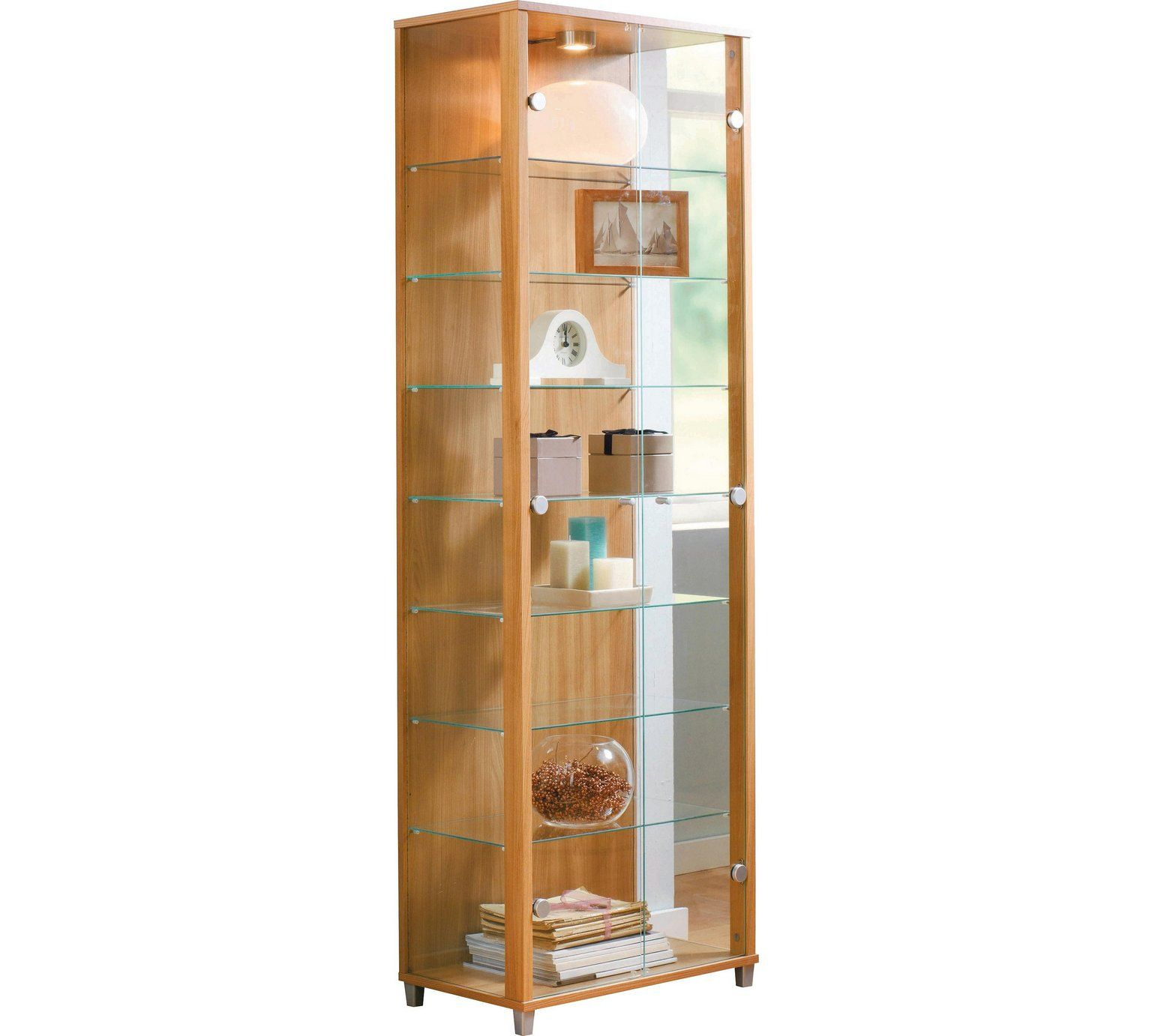 Buy HOME 2 Glass Door Display Cabinet