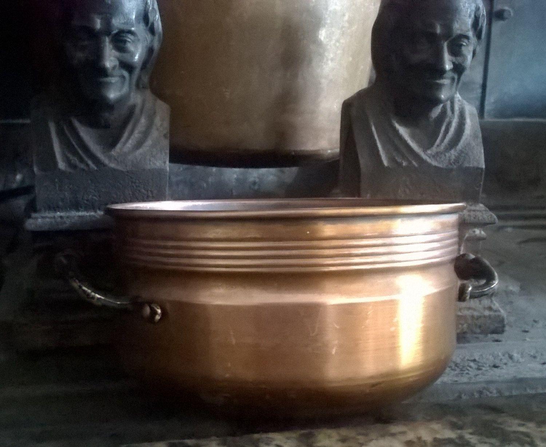 Casseruola in rame con manici in metallo vintage di GMG1982 su Etsy