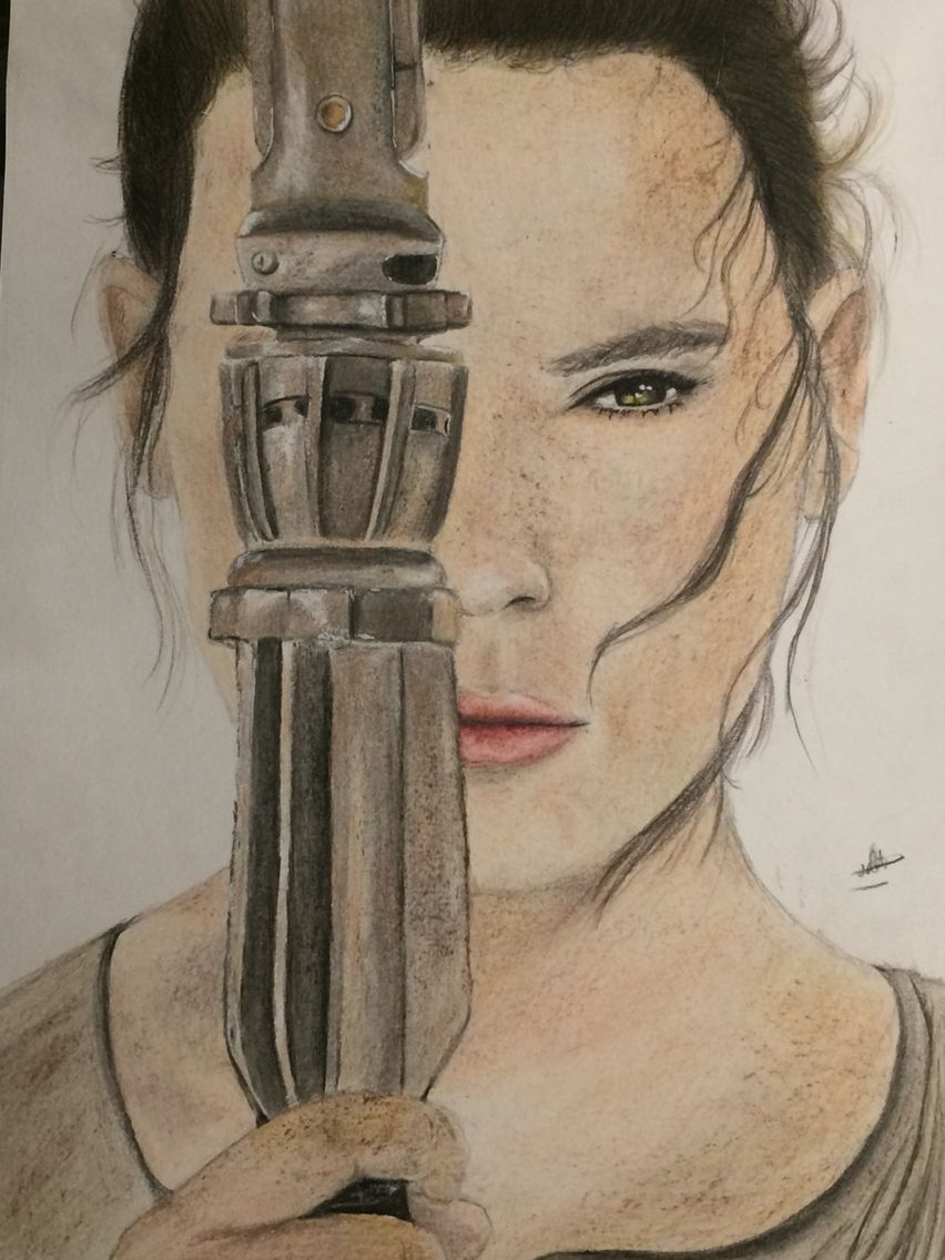 Dessin Realiste Couleur Star Wars Dessins Realiste Pinterest