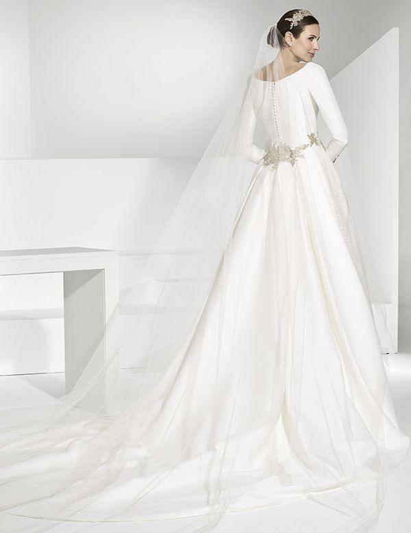 Franc Sarabia Bridal 2018 #modest   Modest (tznius) Wedding Gowns in ...