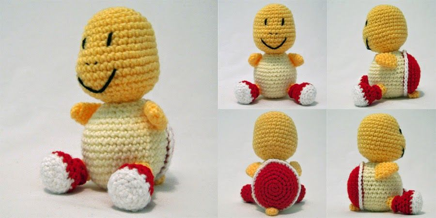 i crochet things: Free Pattern: Koopa Troopa Amigurumi | crochet ...