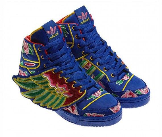 Eason Chan x adidas Originals by Jeremy Scott SneakerNews