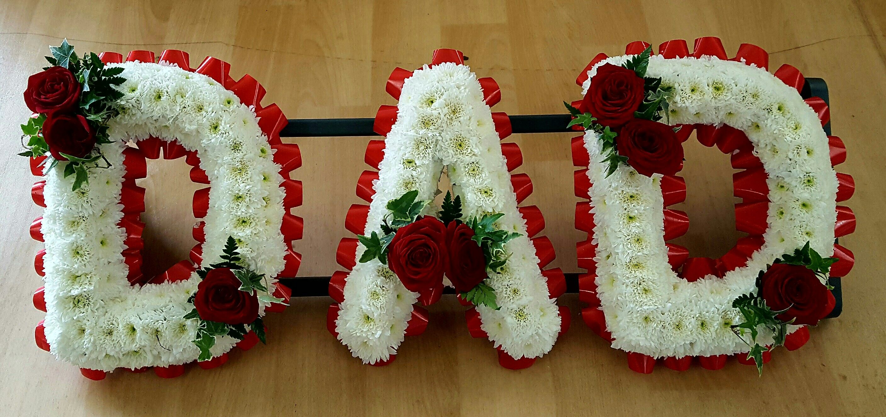 Dad funeral tribute by the country florist funeral tributes dad funeral tribute by the country florist izmirmasajfo Image collections