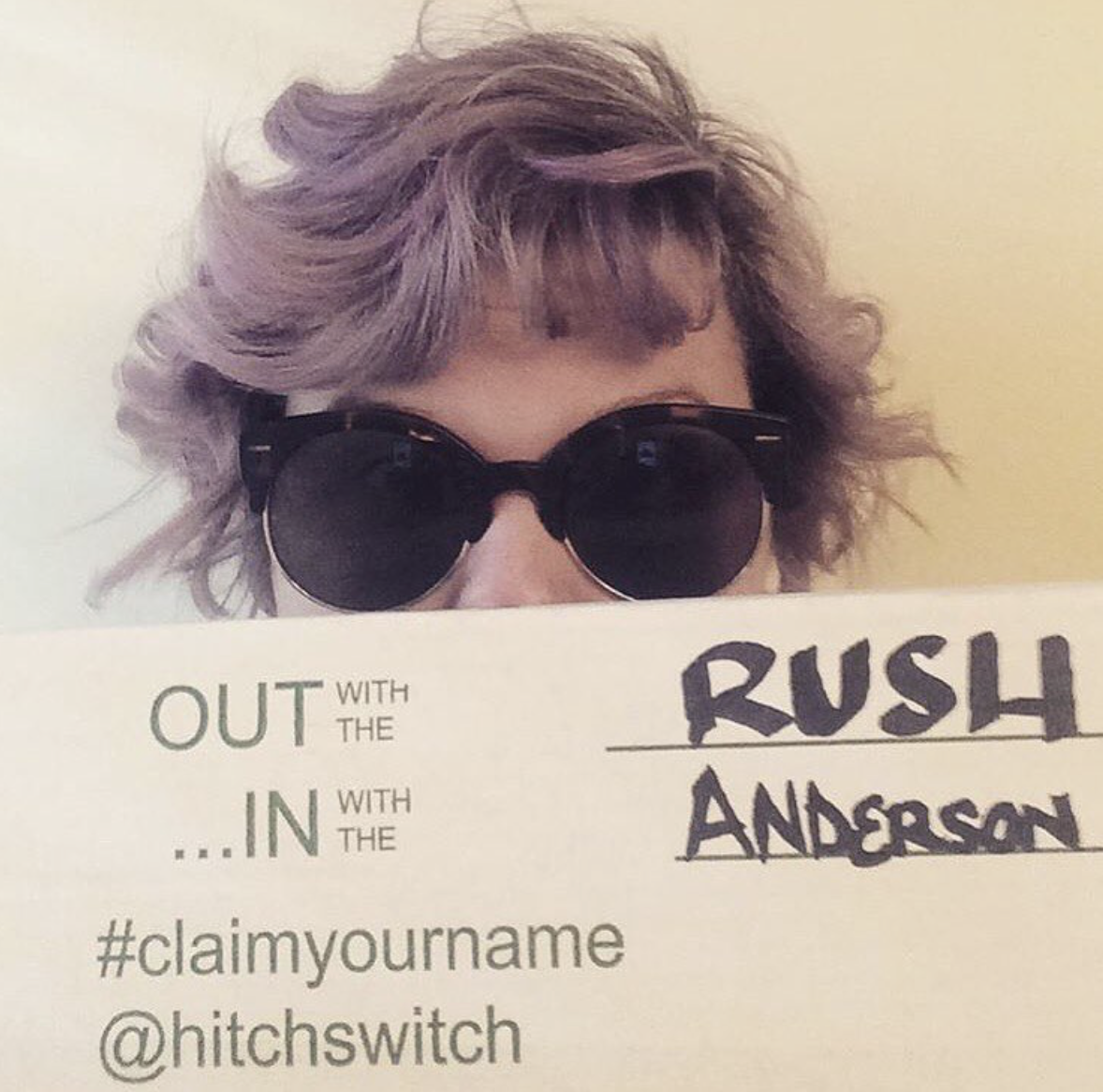 See Ya Later RUSH 🏻 🏻 🏻 #HitchSwitch #namechange
