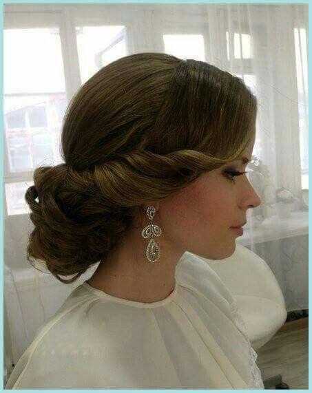 Peinado boda recogido Peinados Pinterest Hair style, Makeup