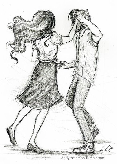 dancing couple simple sketch - Google Search                                                                                                                                                                                 More