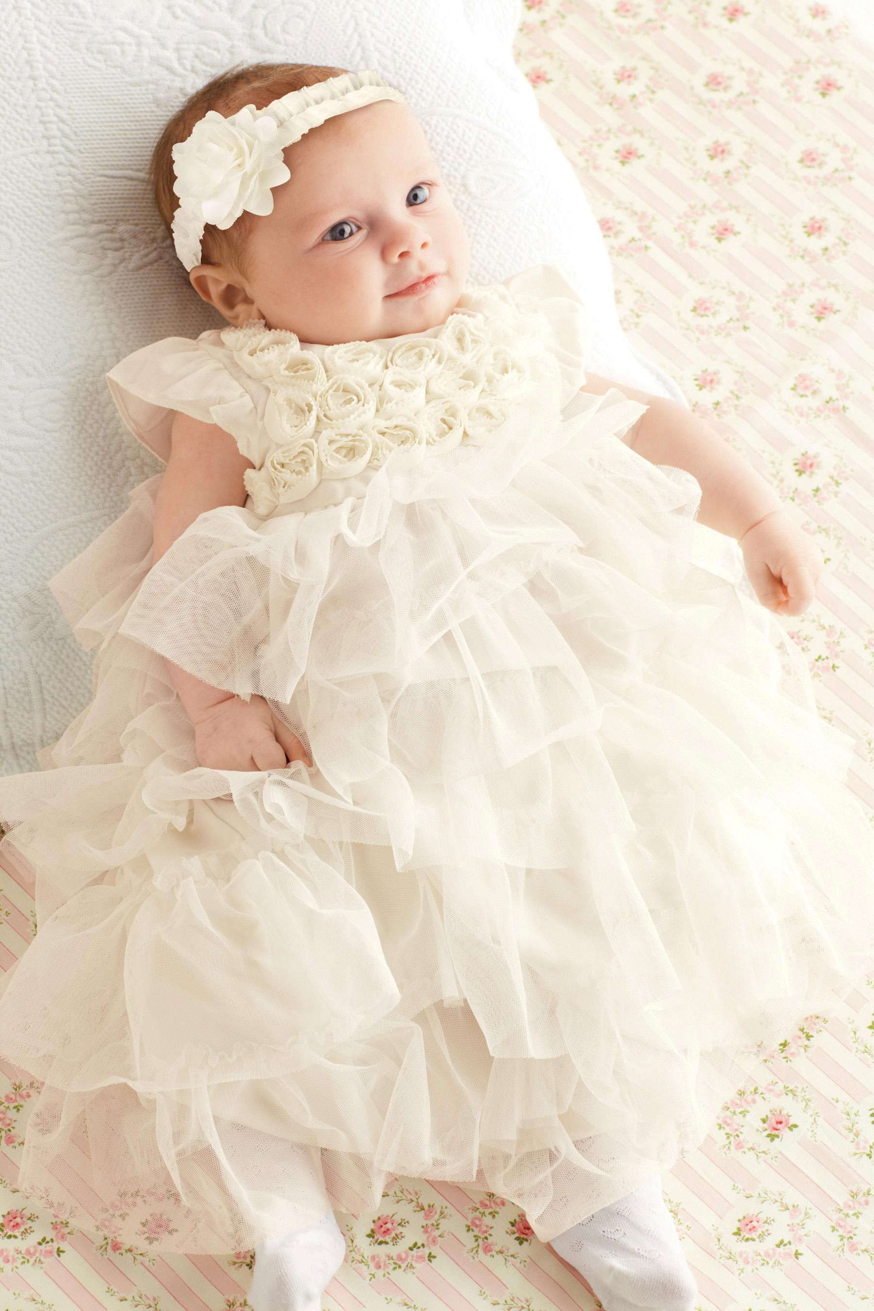 Next online party dresses - Buy Christening Dress 0 18mths From The Next Uk Online Shop